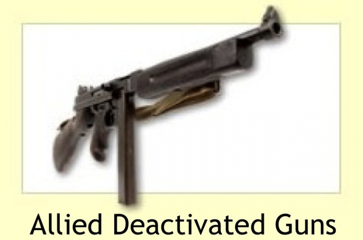 Allied Deactivated Guns