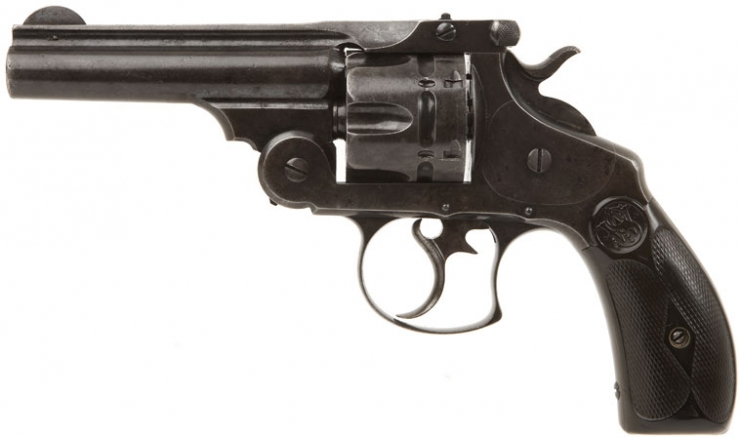 smith amp wesson 1880 44 russian revolver live firearms