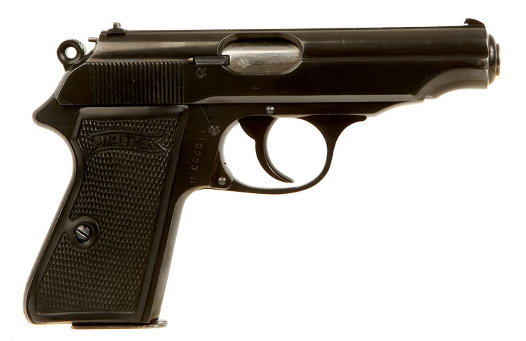 Deactivated Nazi Era Walther Pp Pistol Axis Deactivated