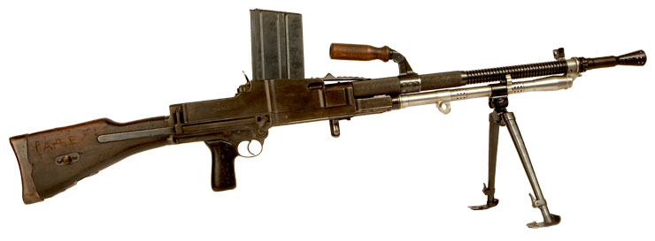 Deactivated WWII ZB 30 SMG