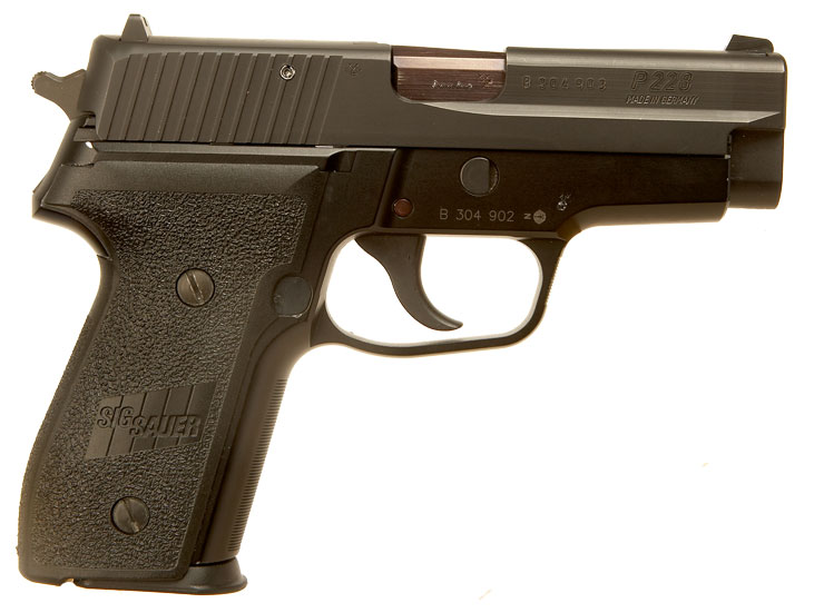 P99 pistol silver
