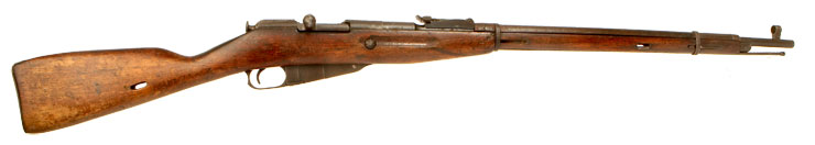 Deactivated WWII Russian Mosin Nagant M91/30  Infantry Rifle