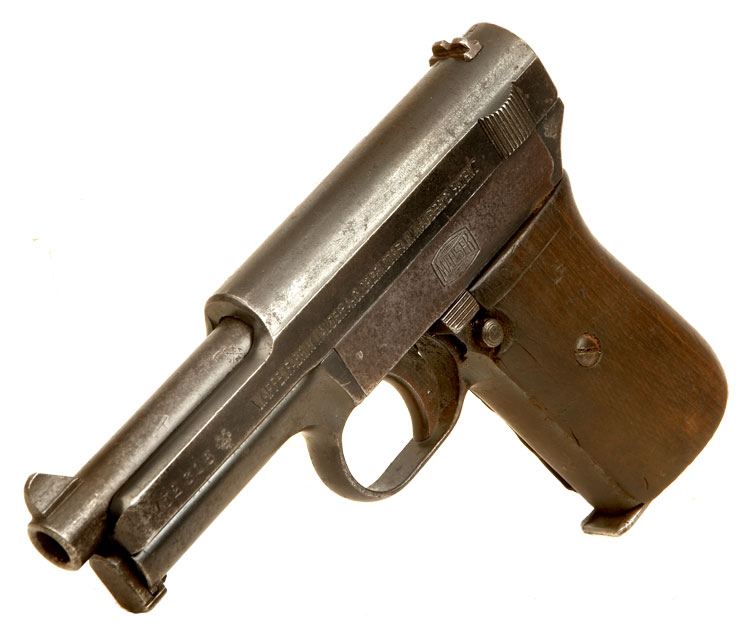 Deactivated Rare WWI Imperial German Army Marked Mauser Model 1914
