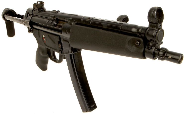Deactivated Old Spec Heckler and Koch MP5 Submachine gun ...