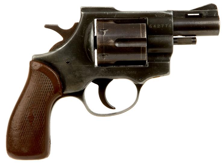 Deactivated Arminius Hw 38 Revolver - Modern Deactivated Guns