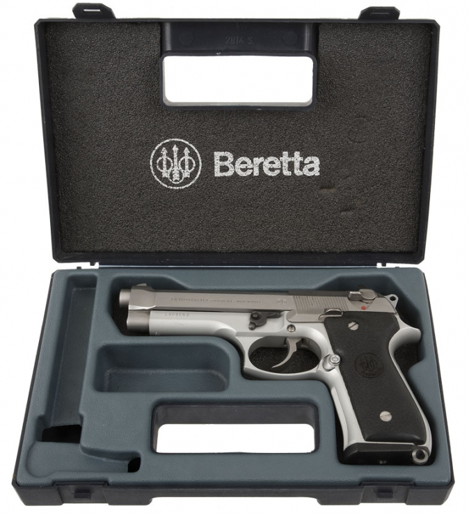 beretta 92fs stainless 9 - Cyber Shot Comp March 2011