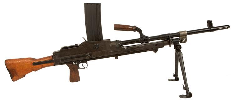 Modern machine guns