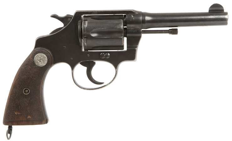 Deactivated Colt Police Positive .38 Special Revolver