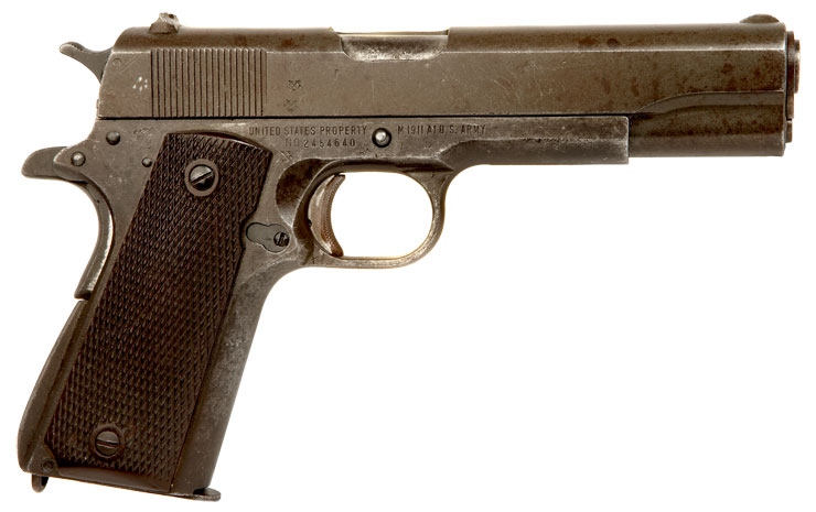 Deactivated Old Spec Wwii Colt 1911 Allied Deactivated