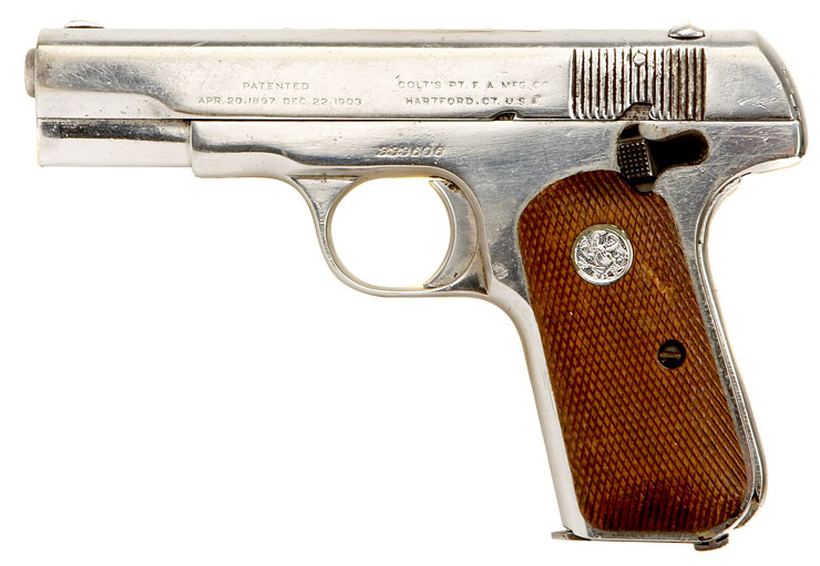 But if you want the smallest colt, browning or baur 25 acps (model 1908s)