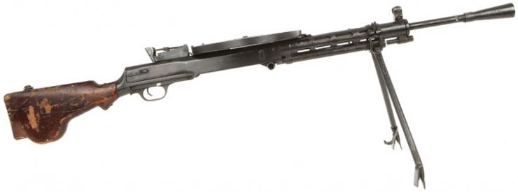 russian machine gun ww2