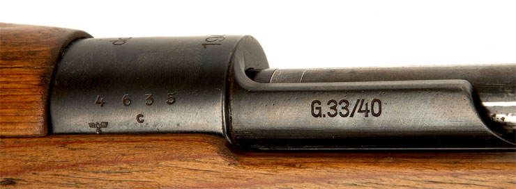 Rare Deactivated WWII German G33/40 Carbine - Axis ...