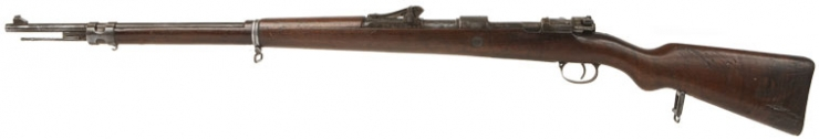 WWI German Gew 98 Rifle Dated 1915