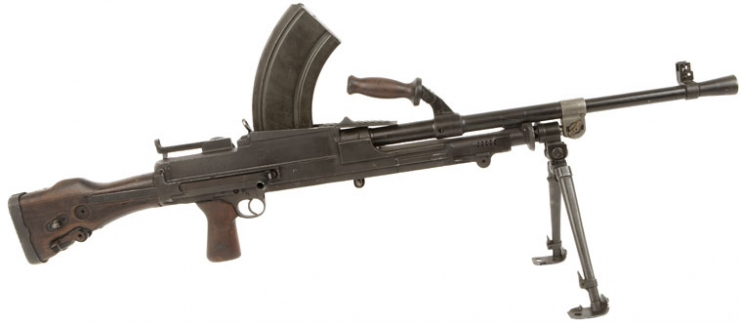 light machine gun ww2