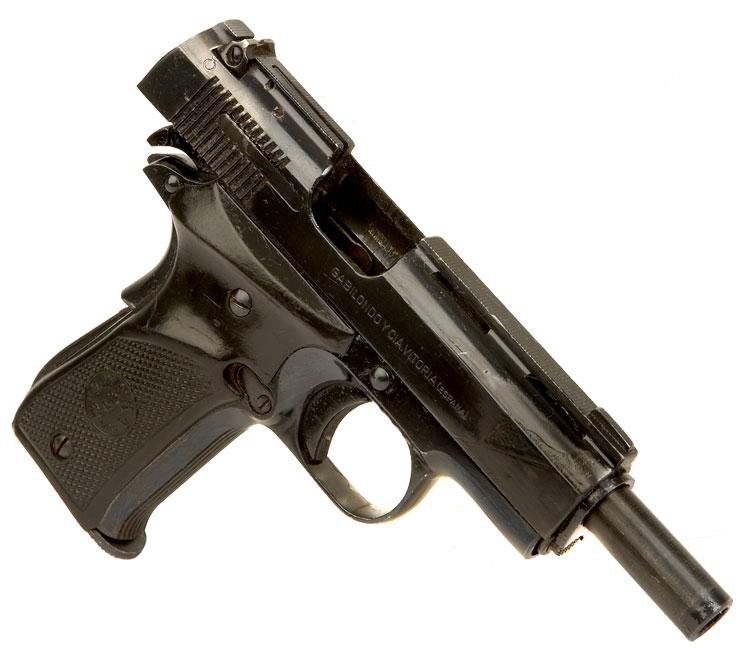 Deactivated llama 32 pistol modern deactivated guns deactivated