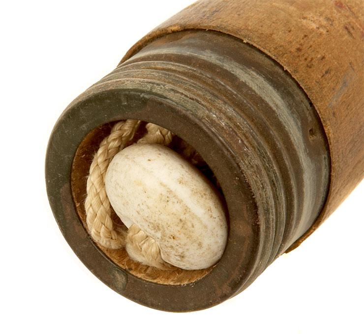 Inert WWII German M24 Stick Grenade (Potato Masher) - Militaria