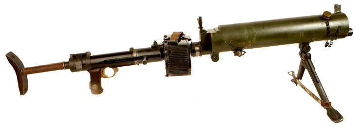 Deactivated Very Rare WWII Luftwaffe MG15 Converted for Ground Use