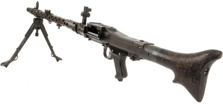 machine guns in wwii