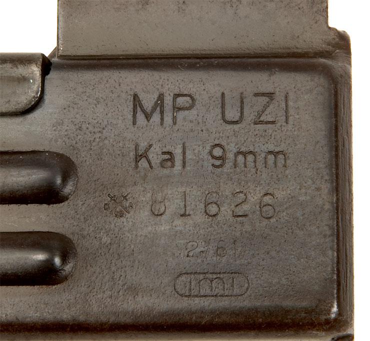 Deactivated Old Spec Israeli Uzi 9mm Submachine Gun - Modern