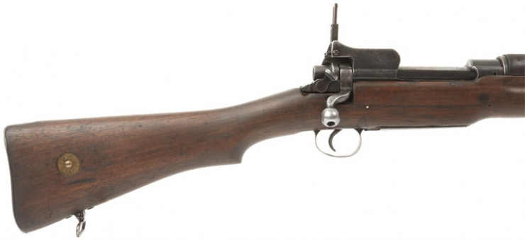 deactivated enfield p14 rifle