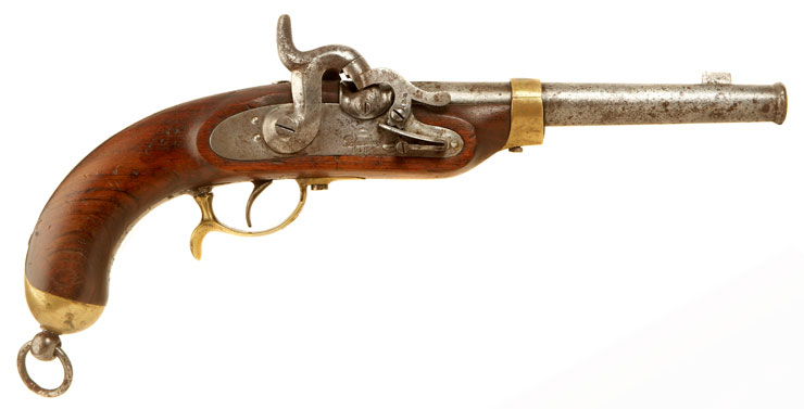 Potsdam percussion cavalry pistol