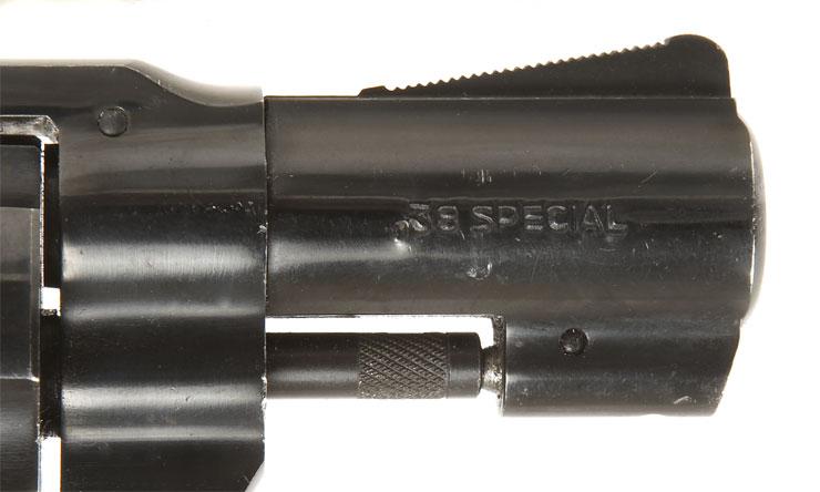 rossi 38 snub nose revolver blued finish and original rossi