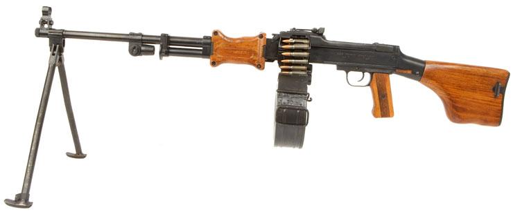 Deactivated Russian RPD Light Machine Gun - Modern ...