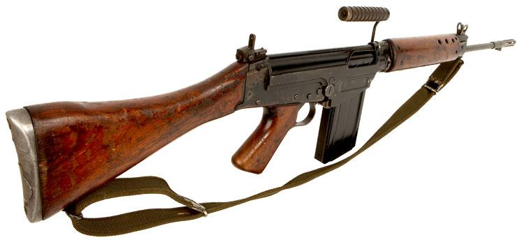 Deactivated Vietnam Era Slr L1a1 Modern Deactivated Guns