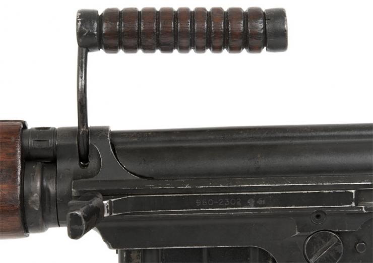 Deactivated British Self Loading Rifle (SLR) Old