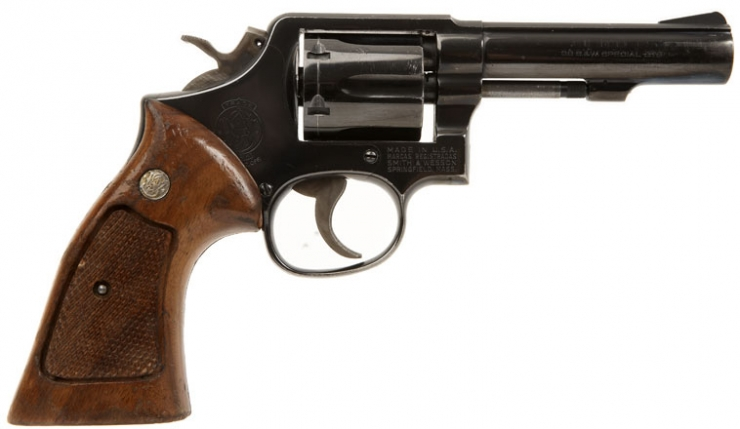 Deactivated smith wesson 38 special revolver
