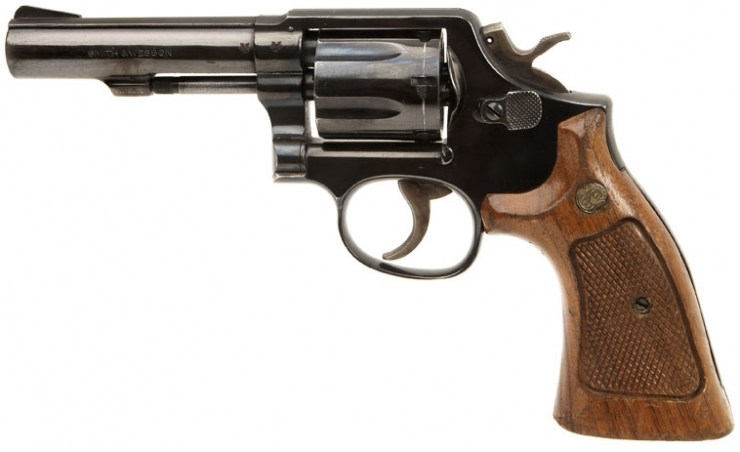 Deactivated Smith & Wesson .38 special Revolver