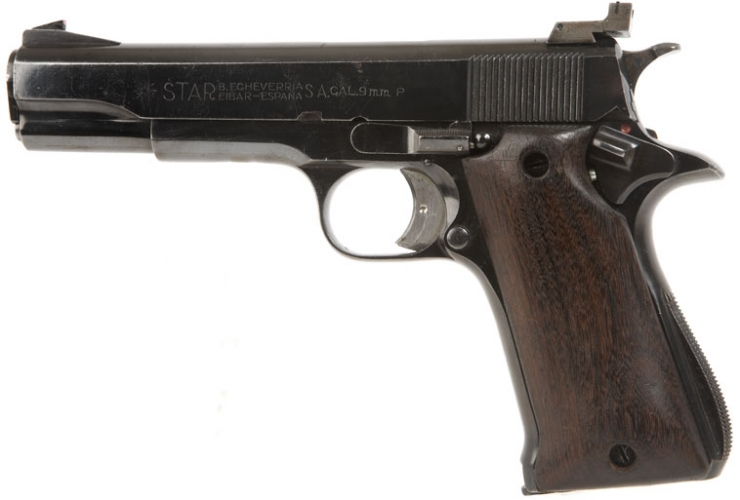 Deactivated Star Pistol 9mm - Modern Deactivated Guns ...