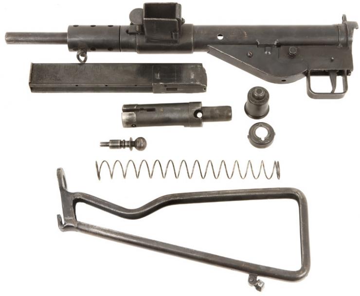 Deactivated WWII British Sten MKII - Allied Deactivated Guns