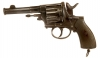 Deactivated German 1893 Bulldog Type Revolver