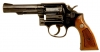 Deactivated Smith & Wesson model 10-8 .38 Heavy barrel revolver.