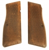 Browning High Power wooden grips.