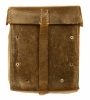 WWII Nazi MG34 machine gunners leather spares satchel