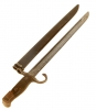 WWII Japanese Arisaka Type 30 Rifle Bayonet  & Scabbard.