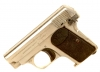 Deactivated Plated Browning 1906 Pocket Pistol