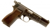 Deactivated WWII Nazi Browning High Power Pistol