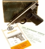 Deactivated Browning Model 1910/55 Pistol - Rare Variant