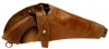 WWI & WWII Leather Holster