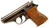 Deactivated RARE WWII Engraved Walther PPK Pistol