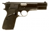 Deactivated Browning High Power Auto Pistol chambered in 9mm