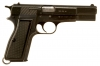 Deactivated Aluminum  Framed FN Browning High Power Ex Police Issued.