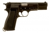 Deactivated Browning High Power Pistol