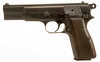 Deactivated WWII Nazi Browning High Power Pistol (P640b)