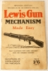 WWII Issued Lewis Gun Instruction Manual