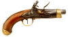 Napoleonic war period German manufactured French model AN XIII Flintlock pistol by Pistor