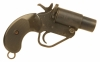 Deactivated WWII British Military marked No2 MK5 1inch flare pistol.